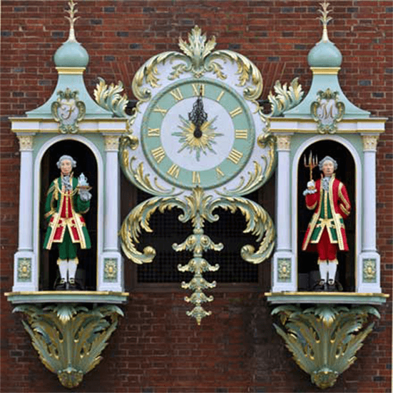 Fortnum's clock
